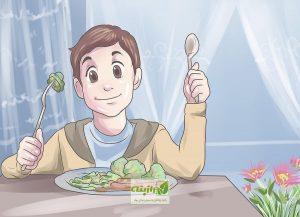 تغذیه مناسب در افزایش قد