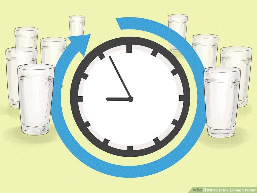 چگونه به میزان کافی آب بخوریم