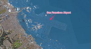 فرودگاه سانفرانسیکو در زیر آب