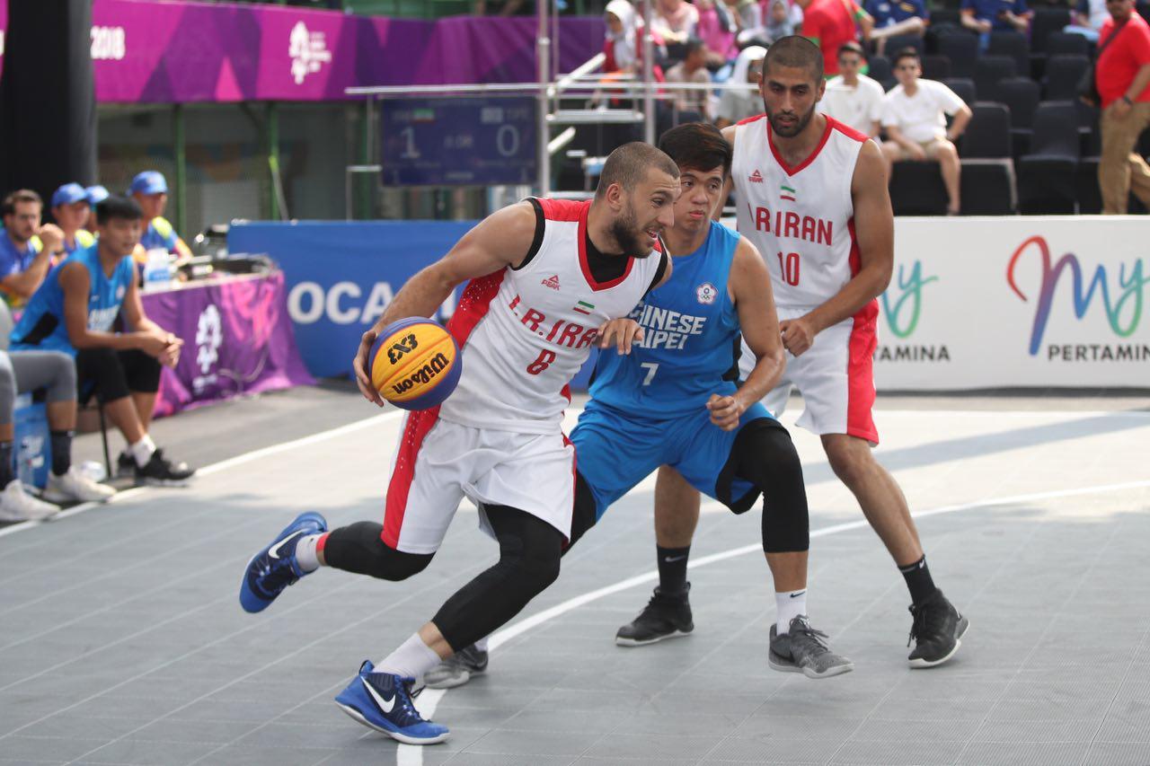 تیم ملی بسکتبال ایران در بازیهای آسیایی