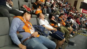 استراحت خبرنگاران در بازیهای آسیایی