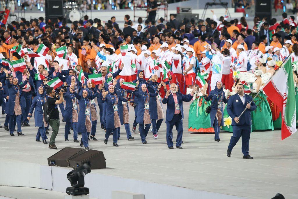 کاروان ایران در بازیهای آسیایی