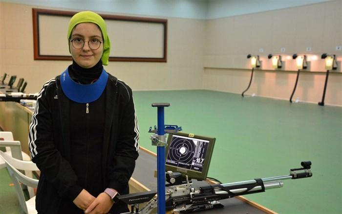 جوانترین عضو تیم ملی ایران در جاکارتا