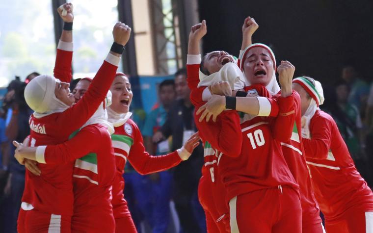تیم کبدی بانوان ایران مدال طلا گرفت