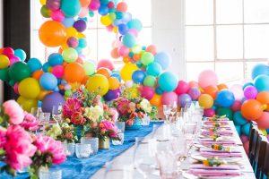 ۹ ایده برای چیدمان میز جشن تولد