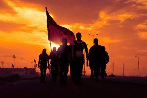 موکبهای ایرانی در طول مسیر پیادهروی اربعین در سال ۹۷