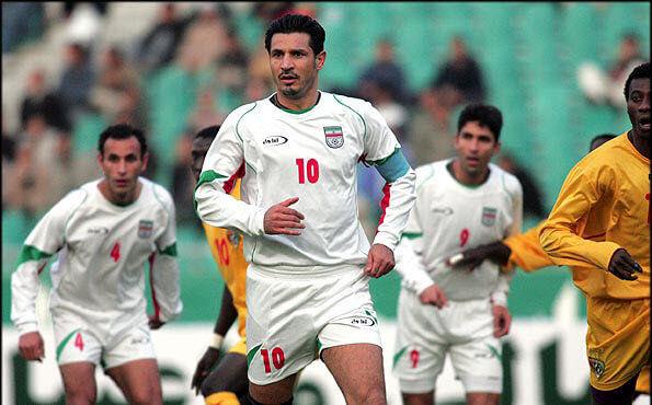 علی دایی در جام ملت های آسیا