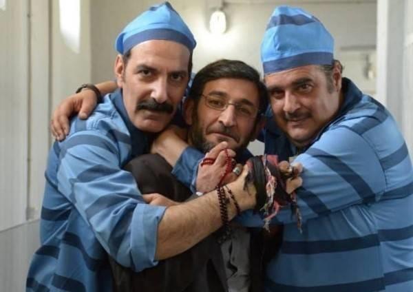 بهنام تشکر ، هدایت هاشمی و هومن برق نورد در زندانی ها