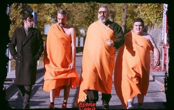 گریم های جالب بازیگران در کمدی سامورایی در برلین
