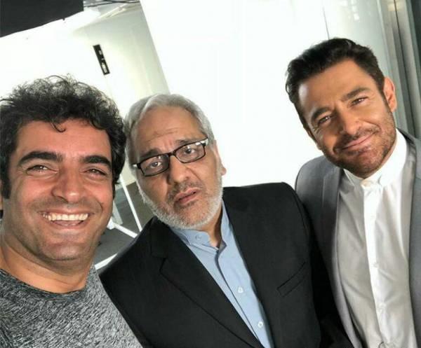مهران مدیری و محمدرضا گلزار در فیلم جدید منوچهر هادی