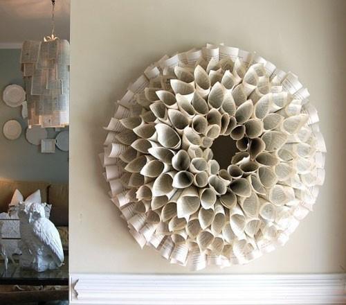 ساخت گل روزنامهای زیبا برای کاردستی