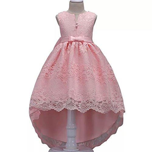 لباس مجلسی دخترانه صورتی جذاب
