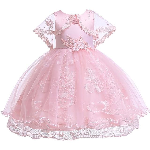 لباس مجلسی شنل دار دخترانه زیبا