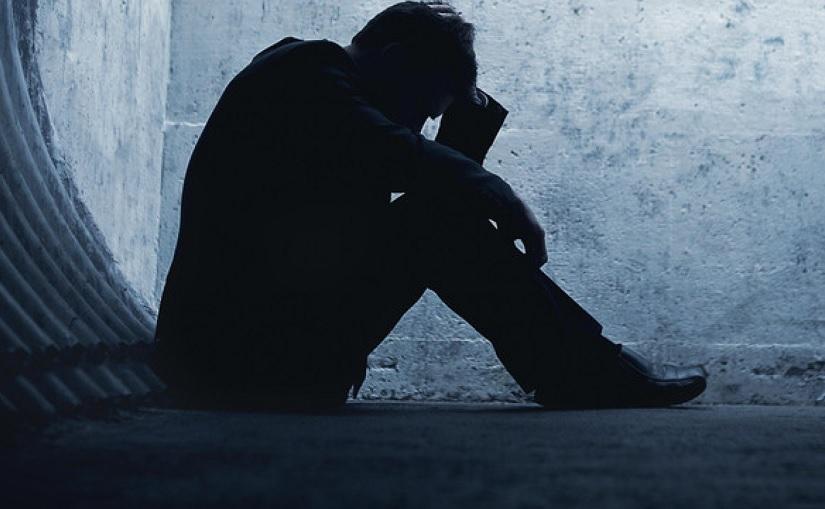 ناراحت و افسرده