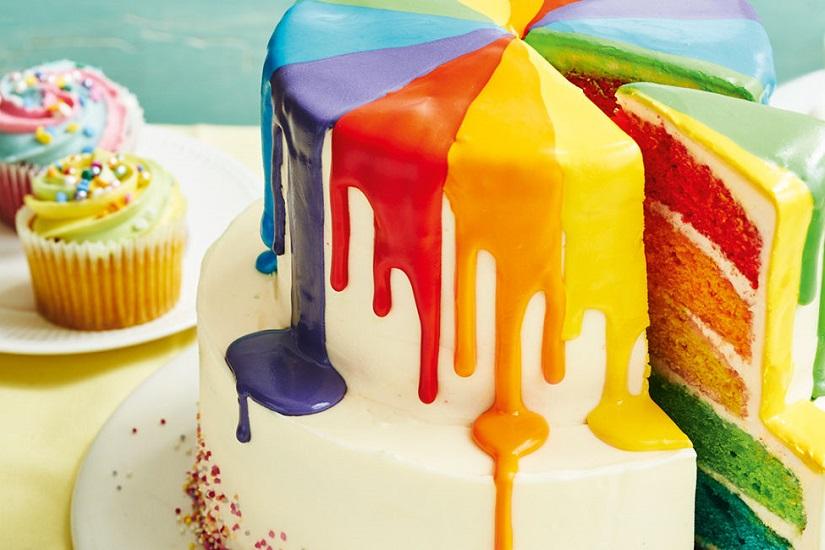 ایده هایی برای کیک تولد دخترانه